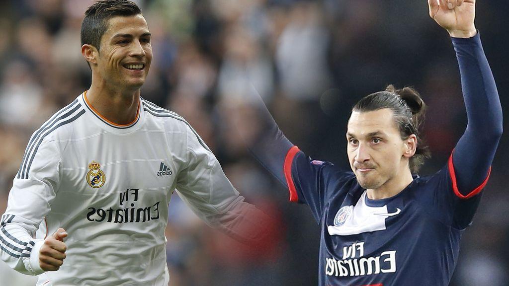 Cristiano Ronaldo e Ibrahimovic