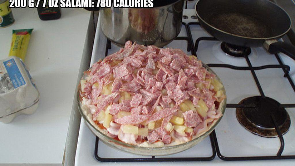 Aporta más de 8.000 calorías