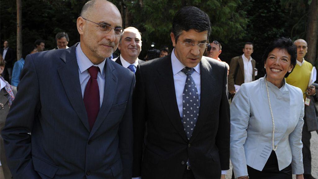 Rodolfo Ares y Patxi López