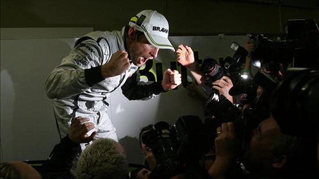 Button, campeón del mundo