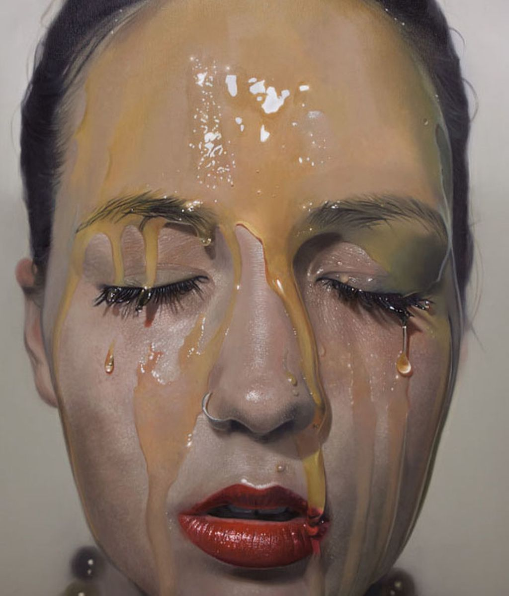 Talento y una técnica muy especial, así son las pinturas de Mike Dargas