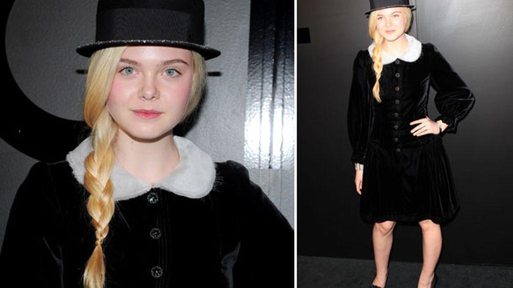 Elle Fanning, ¿adolescente o viejuna?