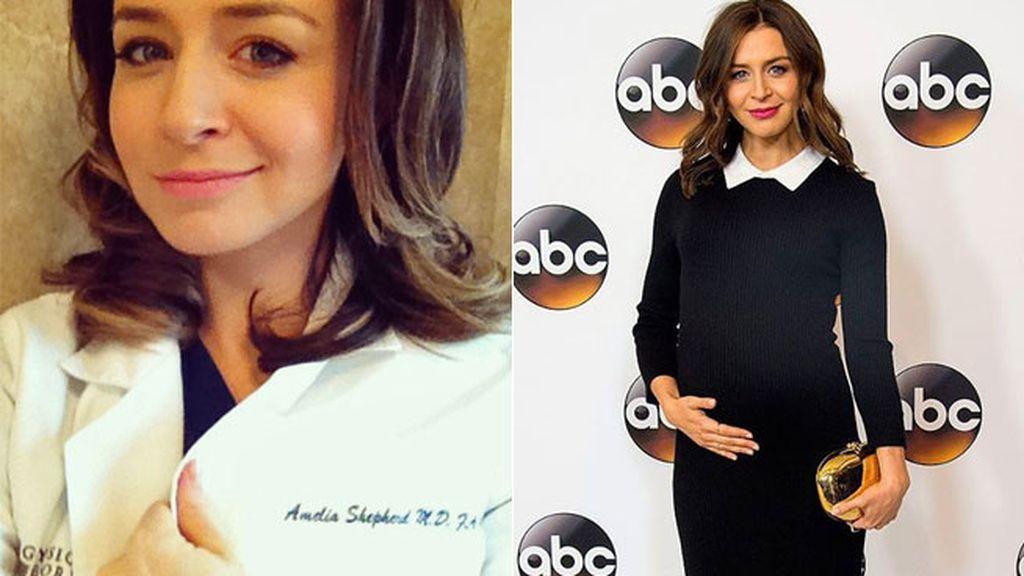 Caterina Scorsone, Amelia en \'Anatomía de Grey\', ¡embarazada de su ...
