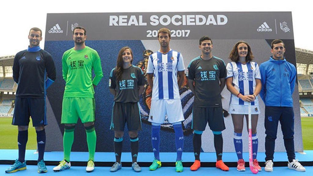 Equipación de la Real Sociedad en la temporada 2016/2017