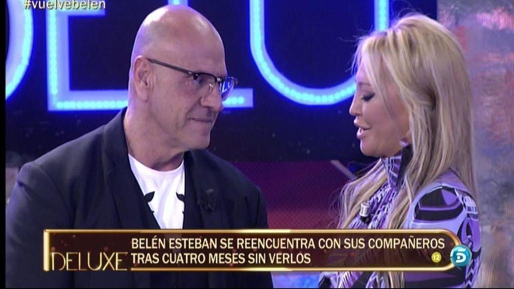 Belén Esteban vuelve a televisión tras siete meses