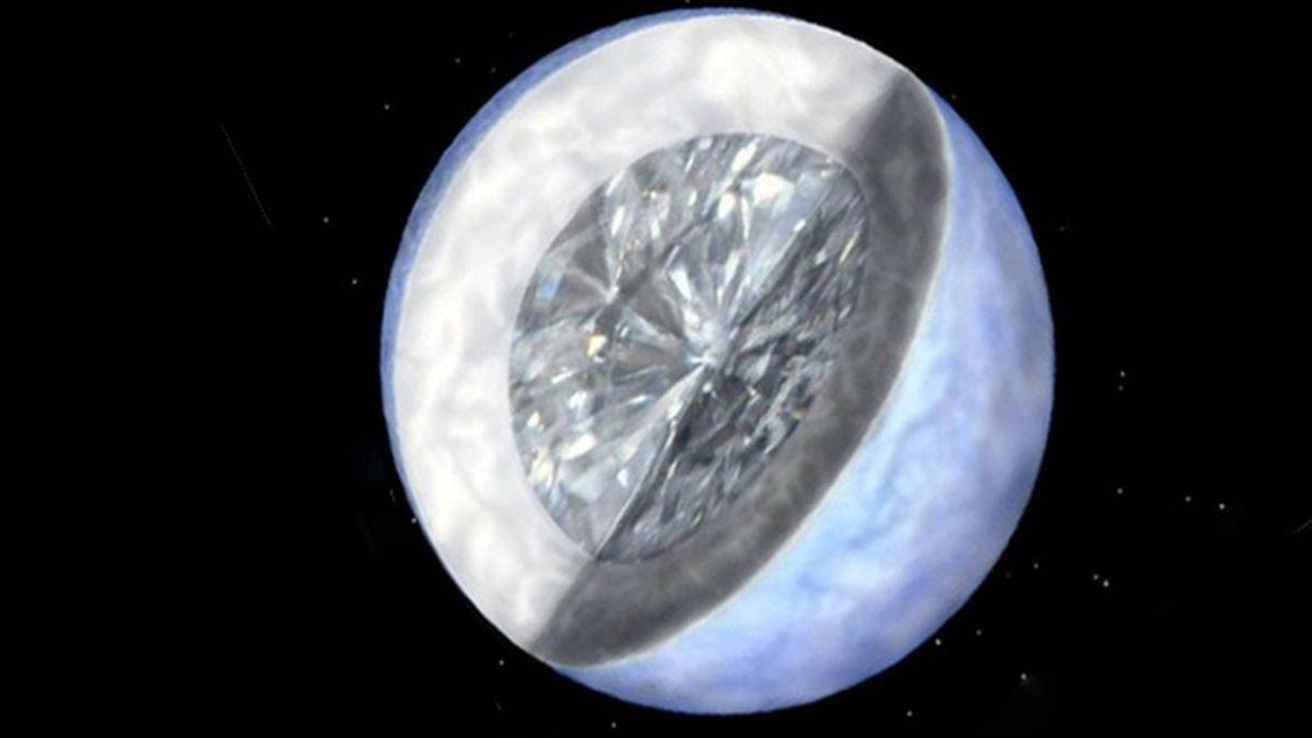 El espacio lejano está lleno de diamantes, según los astrónomos