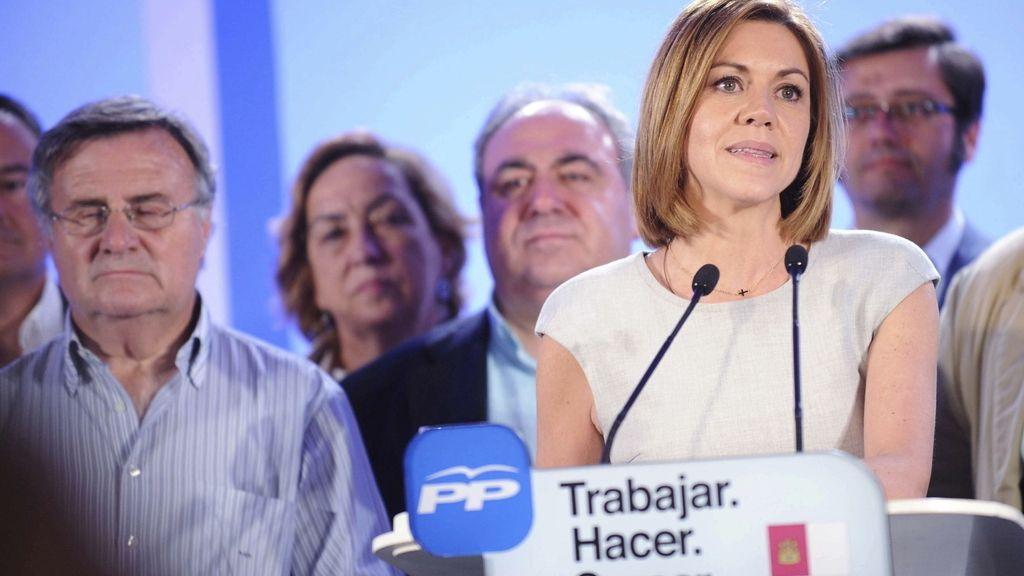 Cospedal valora los resultados electorales en Toledo