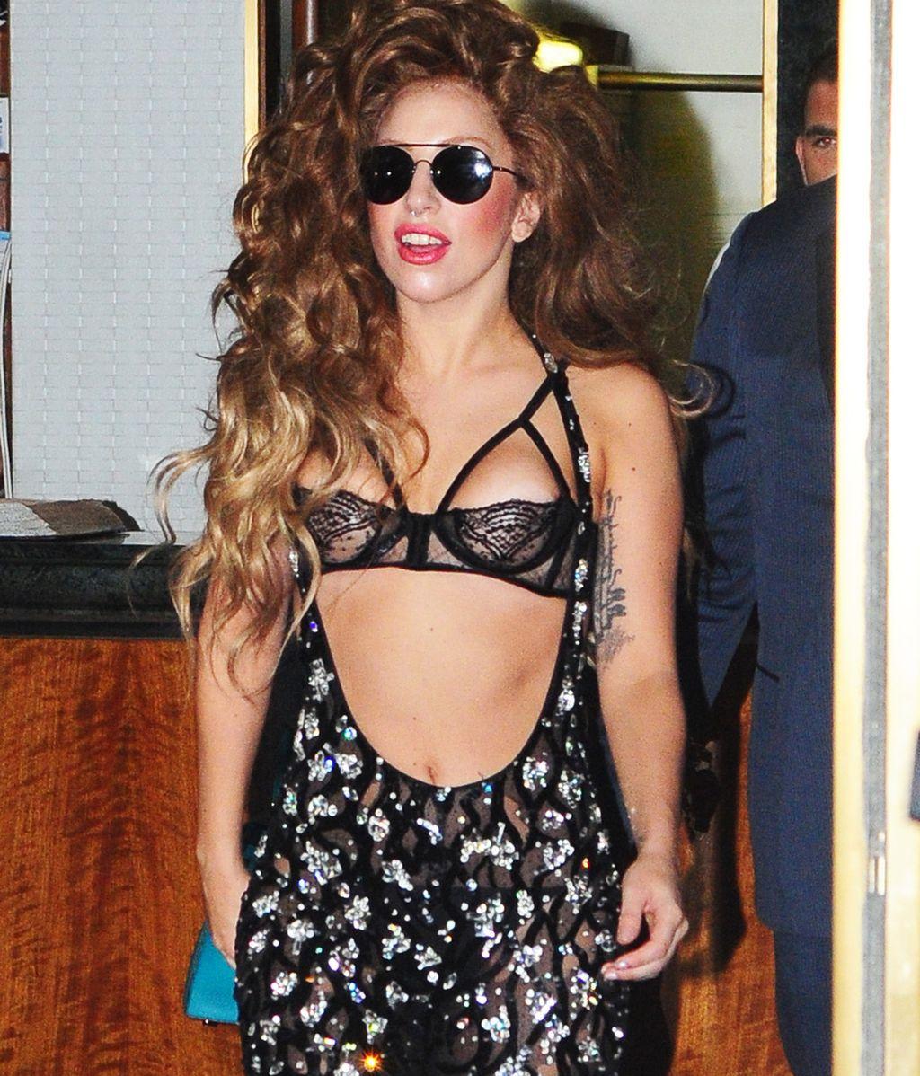 Lady Gaga,en  Nueva York