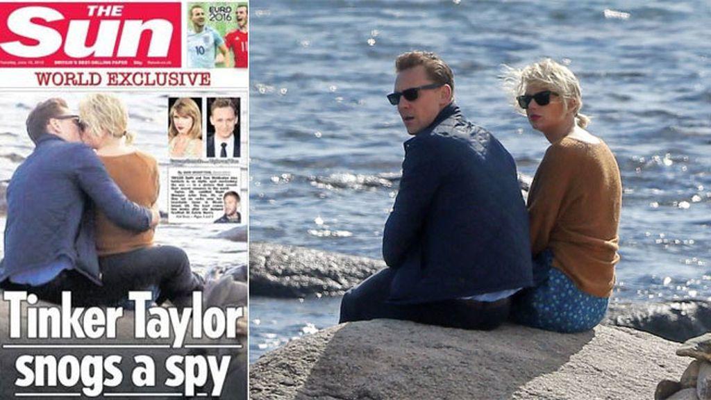 'The Sun' les ha fotografiado besándose y de paseo romántico por la playa