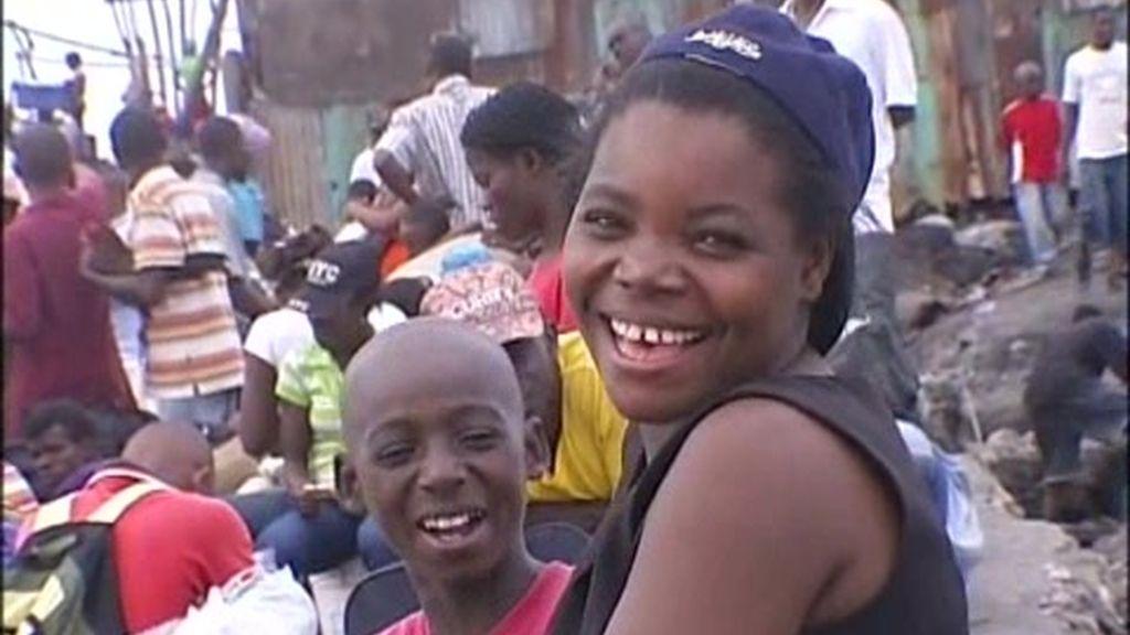 La población haitiana, desesperada por huir