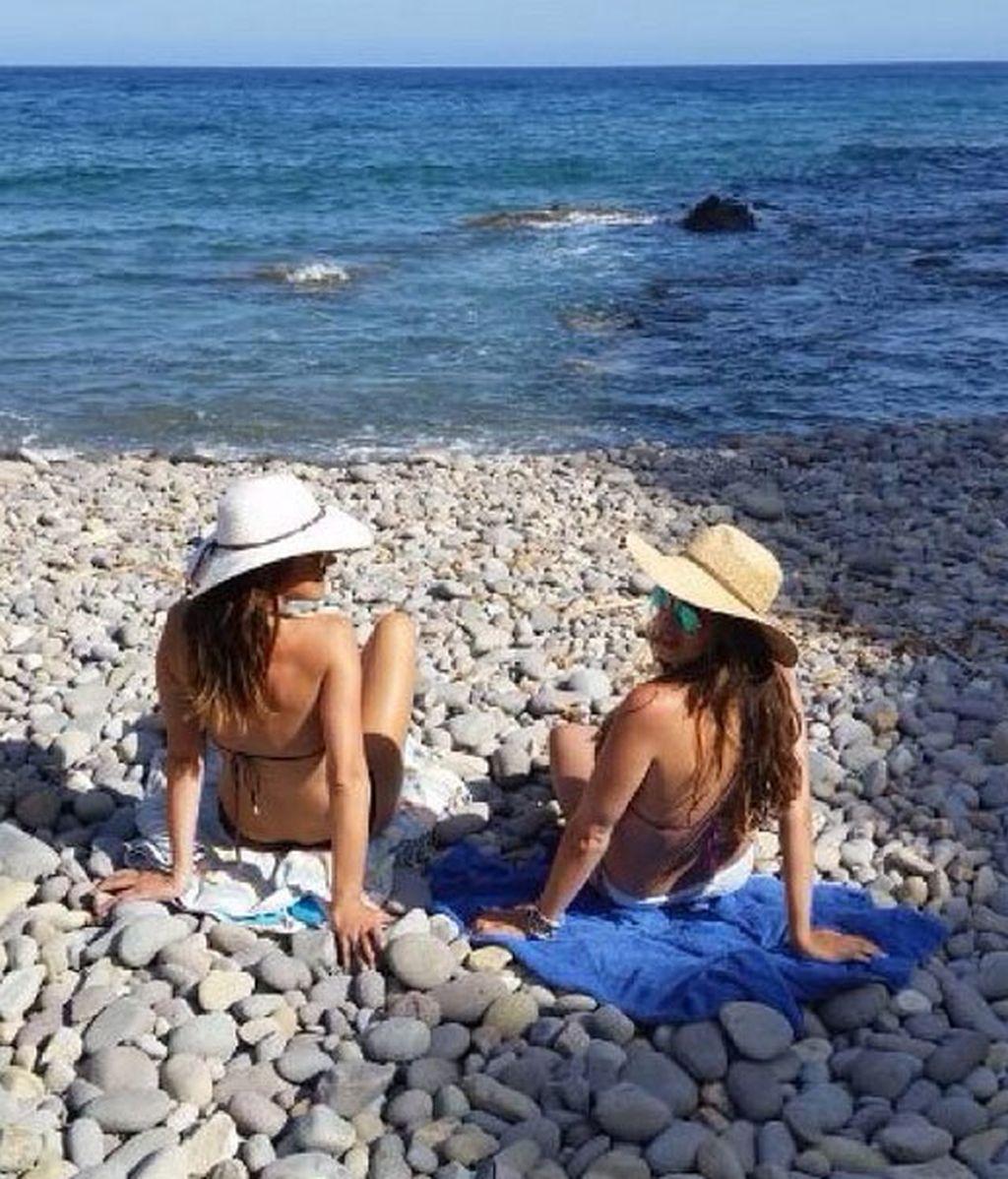 Vacaciones Sara Carbonero e Isabel Jiménez