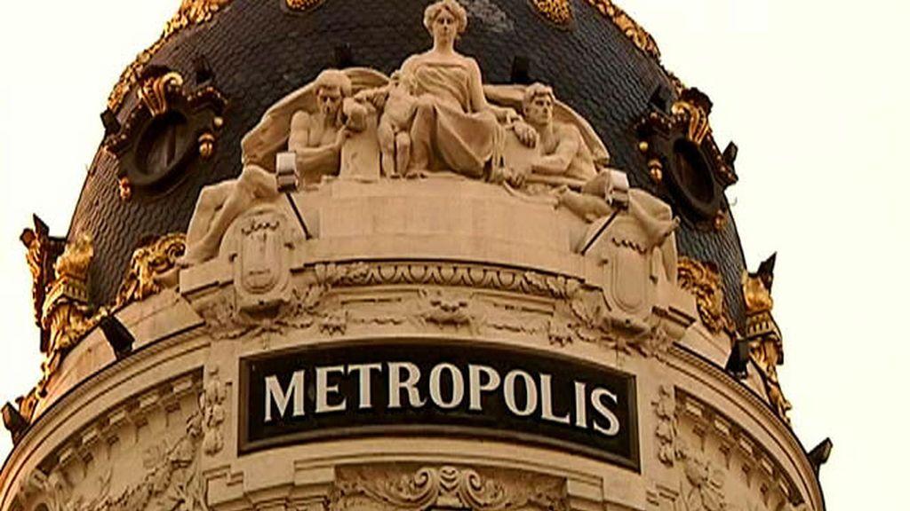 Edificio Metrópolis en Madrid
