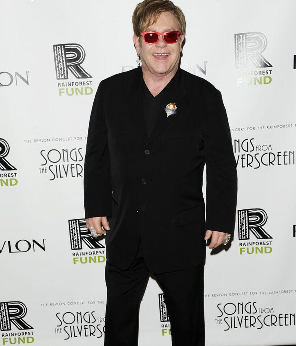 Elton John, Sting y Jennifer Hudson, de tiros largos