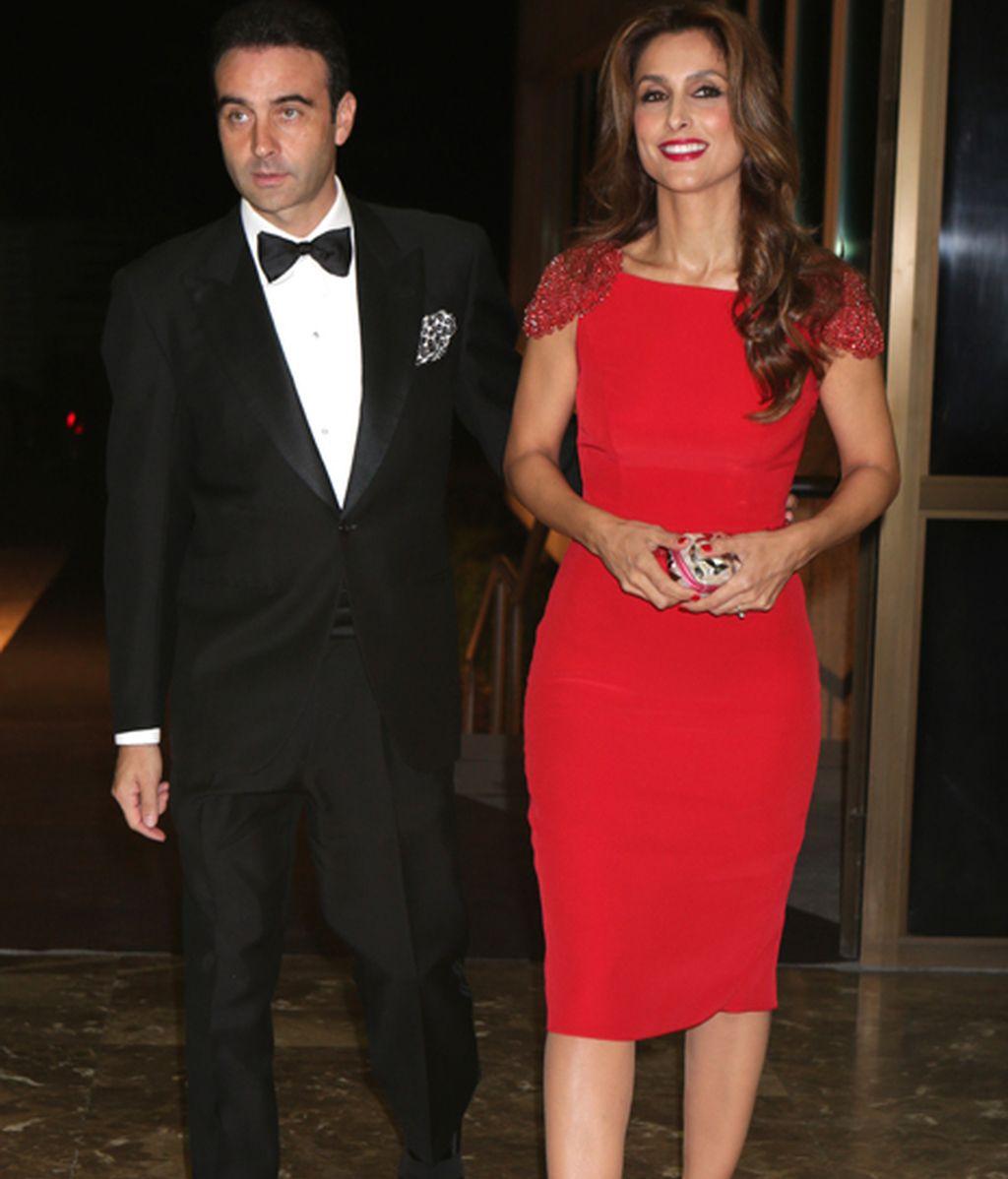 Paloma Cuevas y Enrique Ponce, elegantísimos