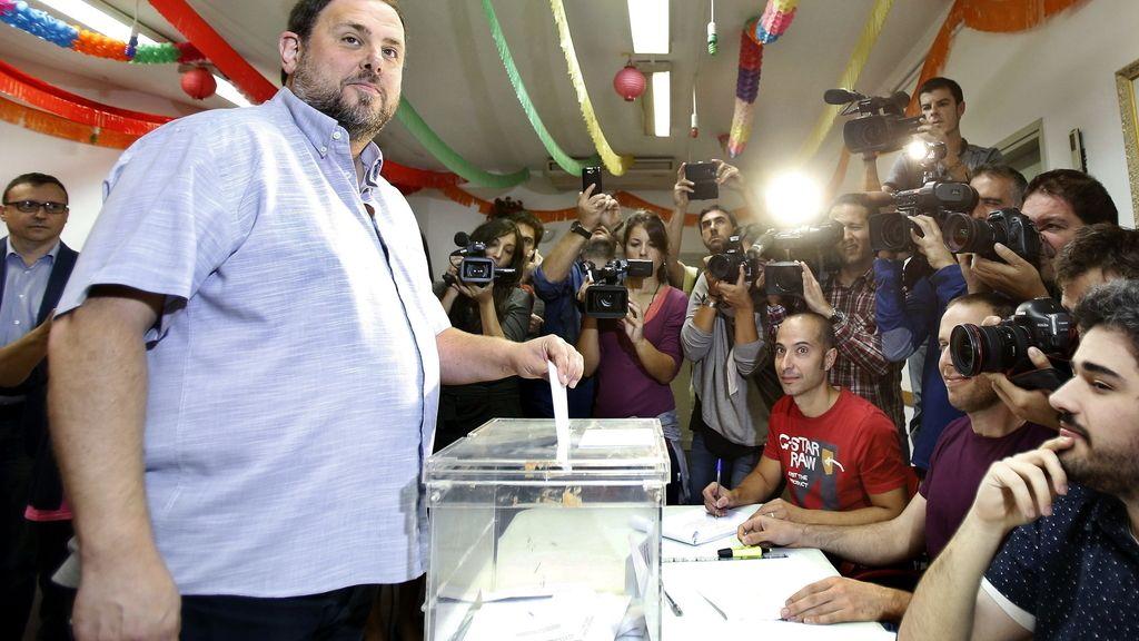 """Junqueras cree que el resultado de las elecciones será """"inequívoco"""""""