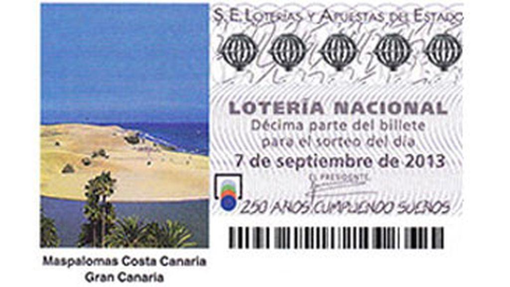 Sorteo extraordinario del turista del 7 de septiembre de 2013