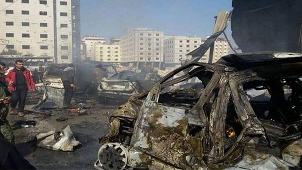 Al menos 45 muertos por dos atentados en el principal barrio chií de Damasco