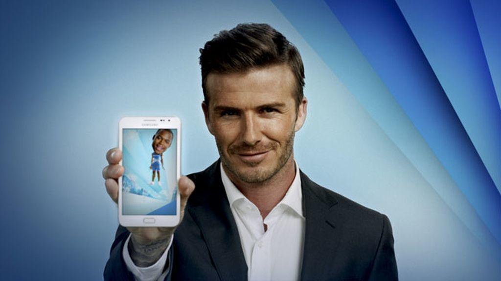 Samsung Galaxy Note y Bekcham