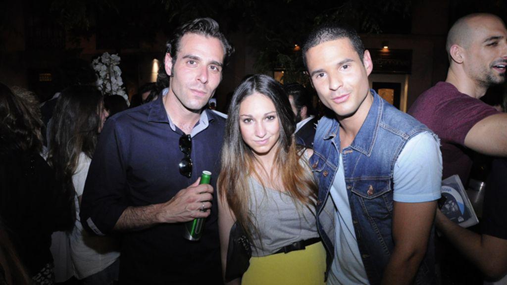 David López, Helena Sanz y Carlos G. López