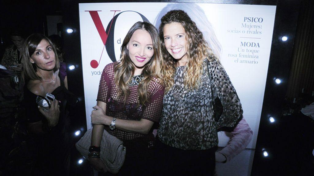 La estilista Ana Antic con Eva Hernández, directora general de Piazza Comunicación