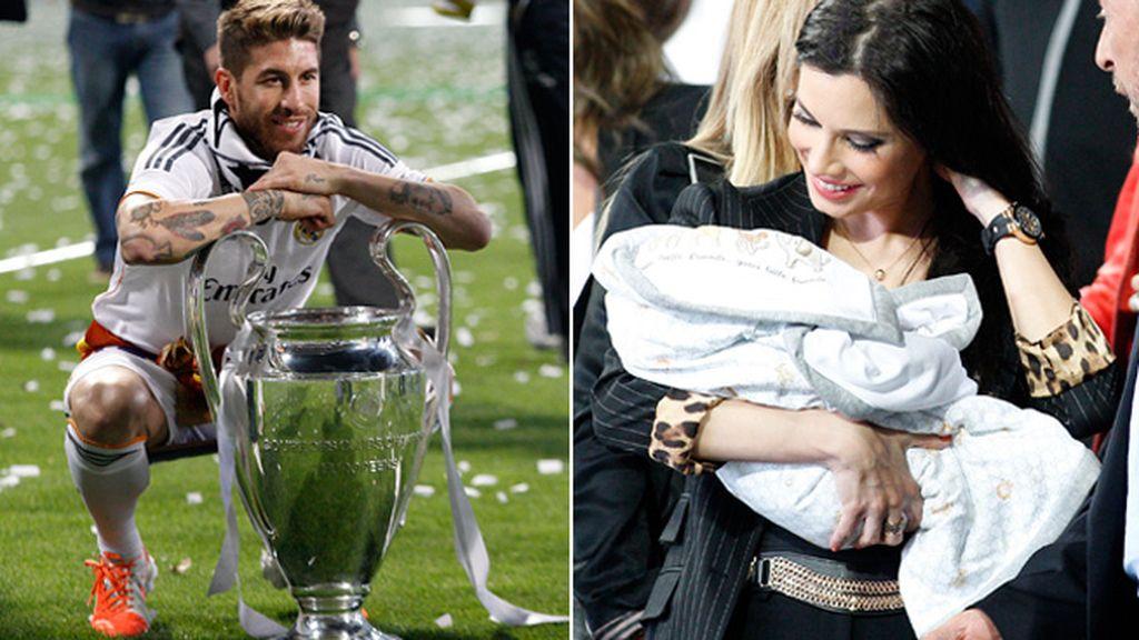 Sergio Ramos le dedica el triunfo a Pilar Rubio y su hijo