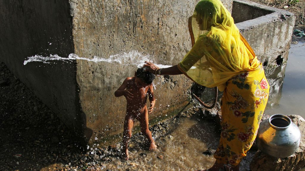 Falta de higiene en India
