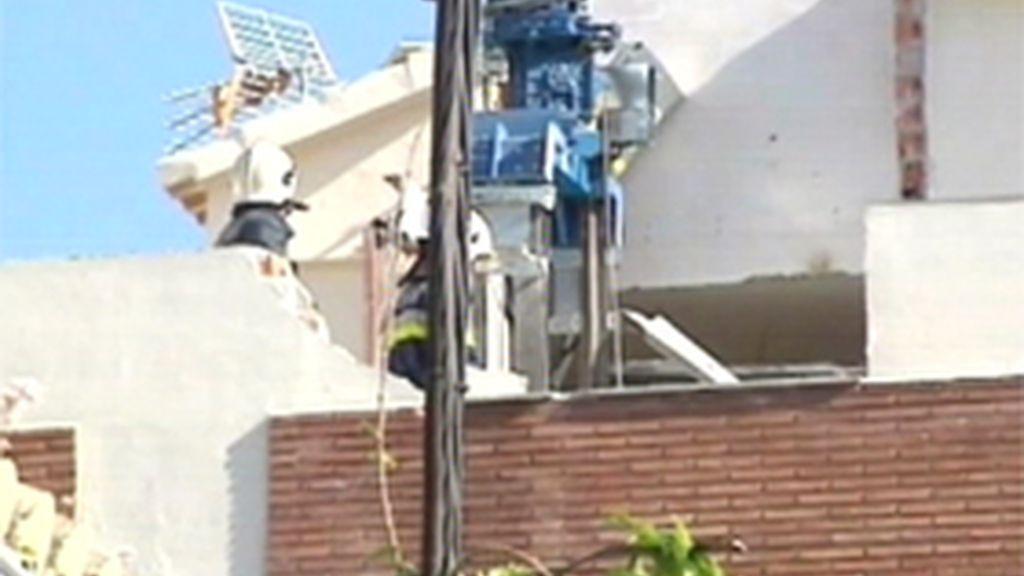 Explosión de gas en Granada