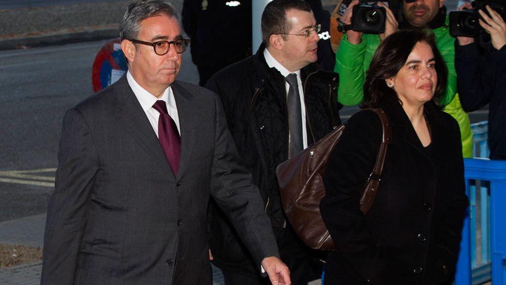 Diego Torres llega al juicio por el caso Nóos