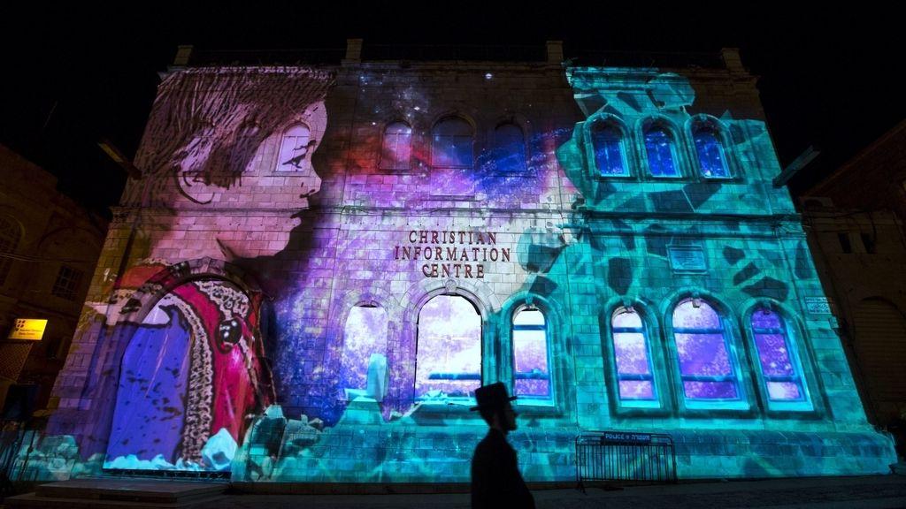 Festival de la Luz en Jerusalén