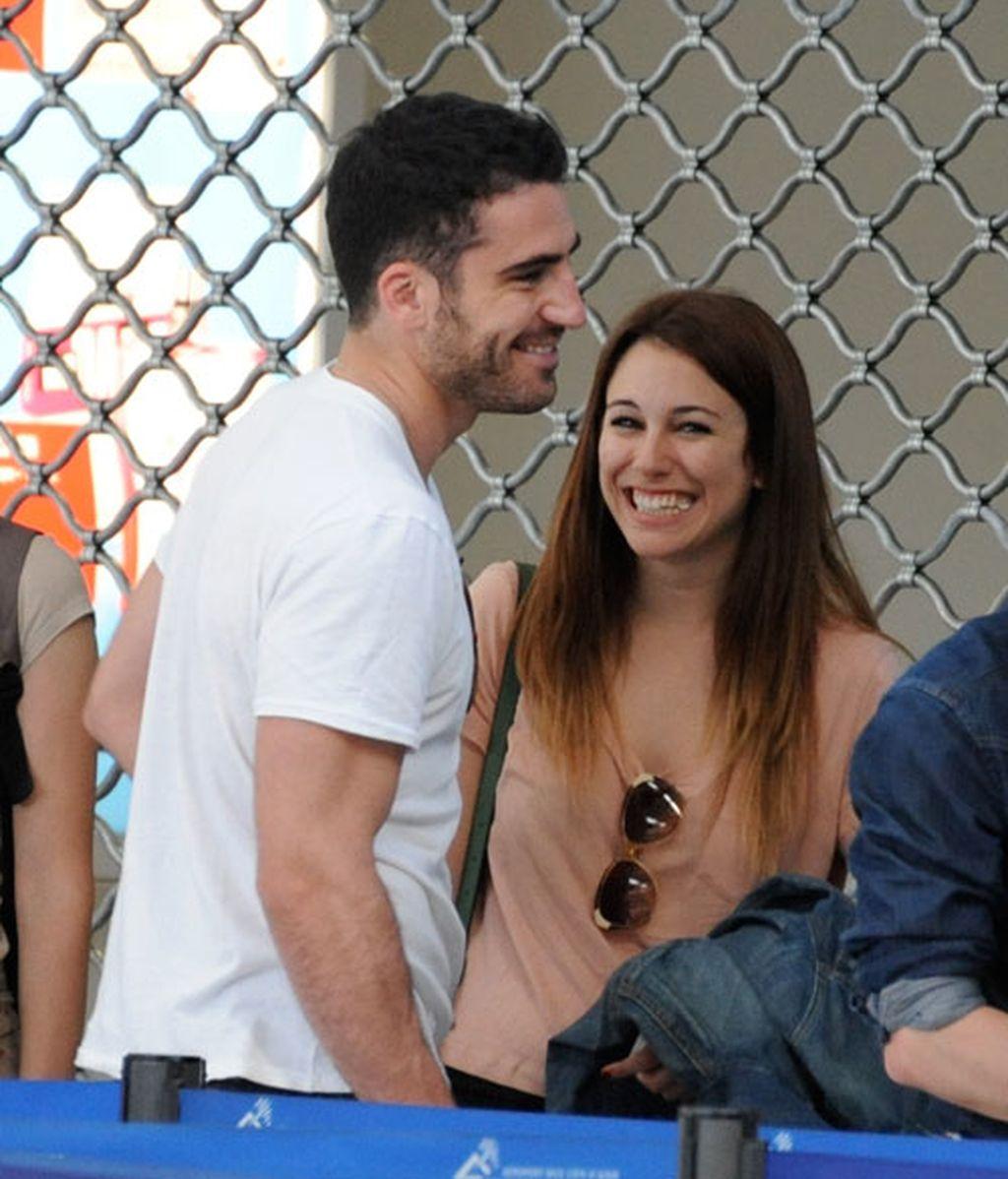 Blanca Suárez regresa de Cannes con Miguel Ángel Silvestre