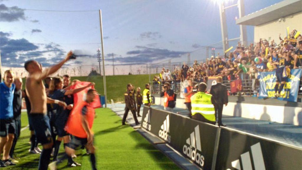 Real Madrid Castilla,UCAM Murcia,Valdebebas