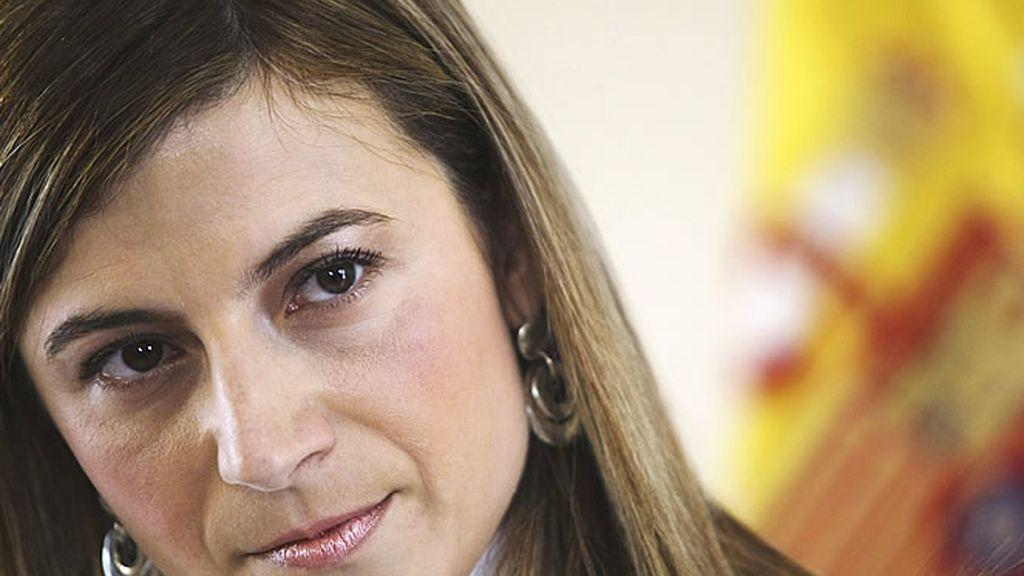 Bibiana Aído, ministra de Igualdad