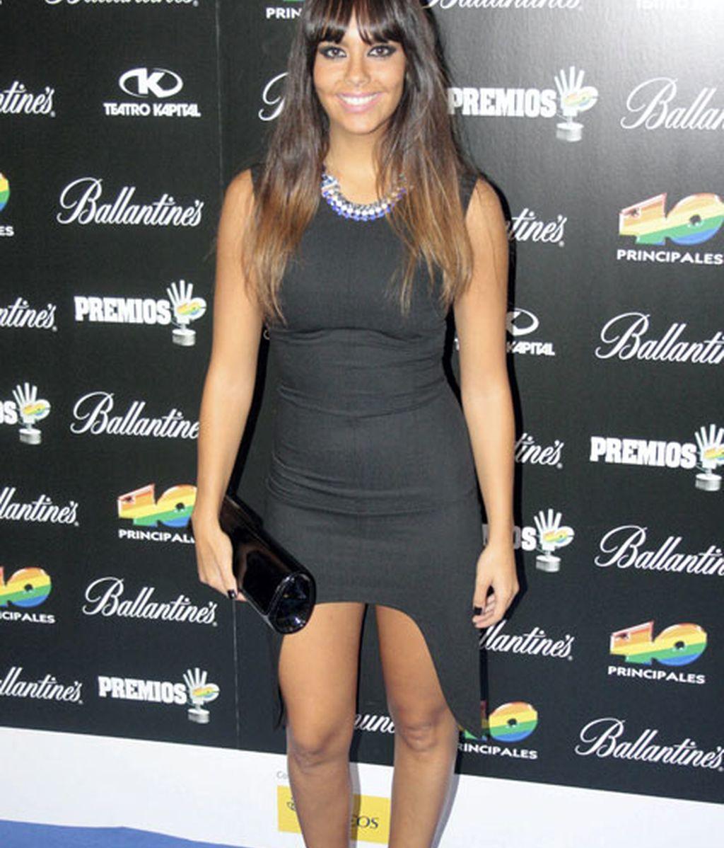 Cristina Pedroche, ajustada y de negro
