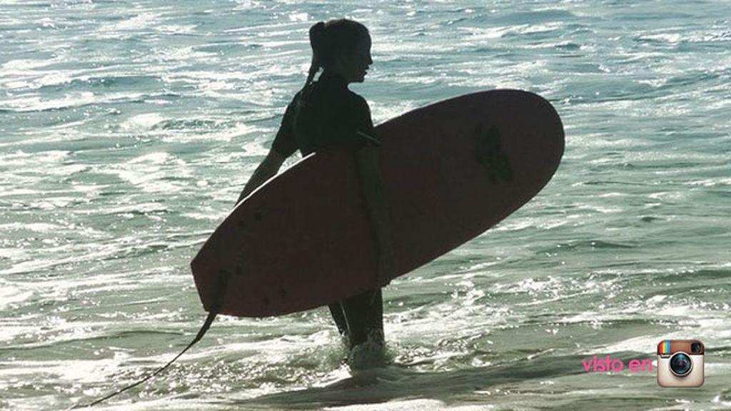 El surf...