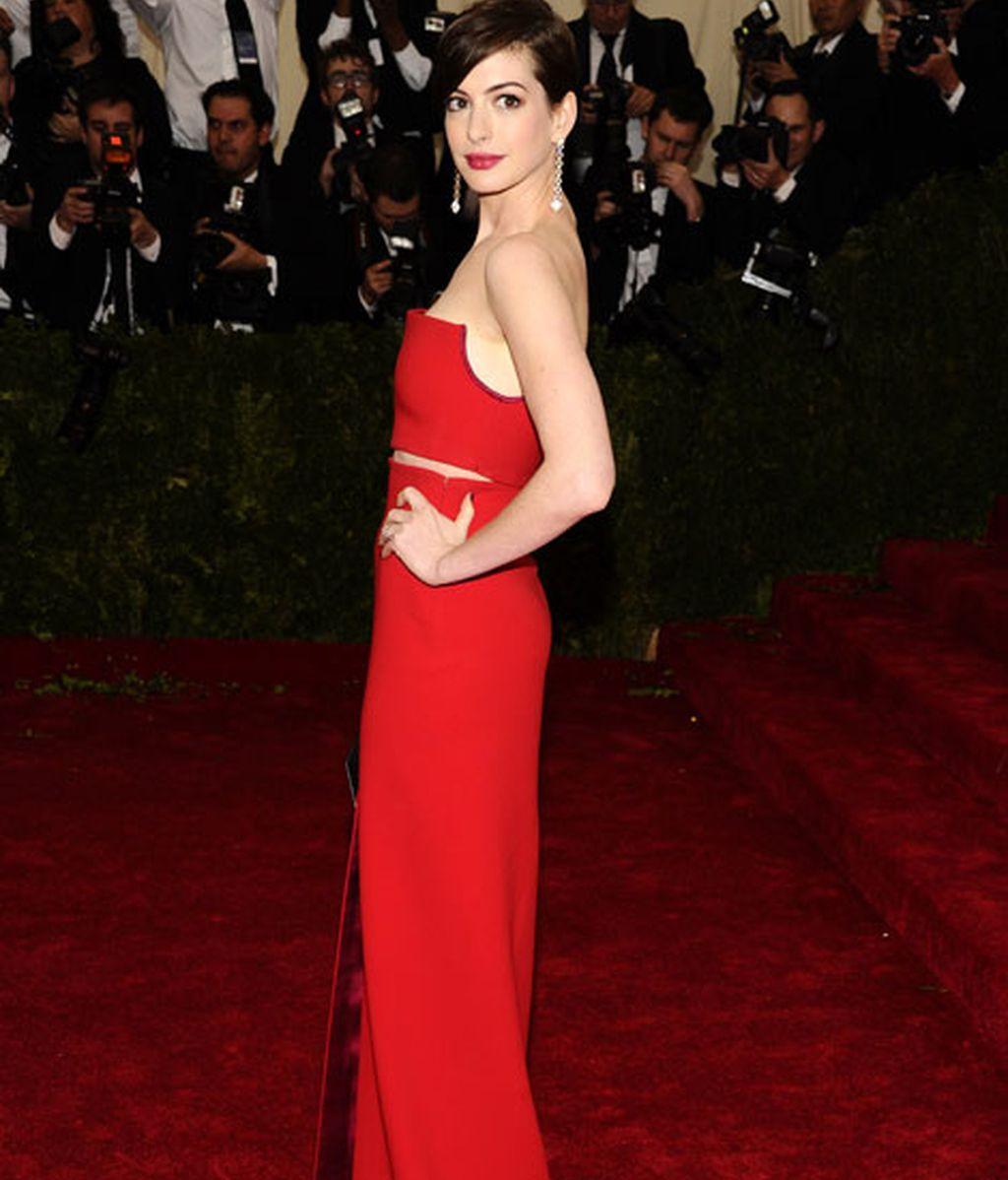 Anne Hathaway de Calvin Klein