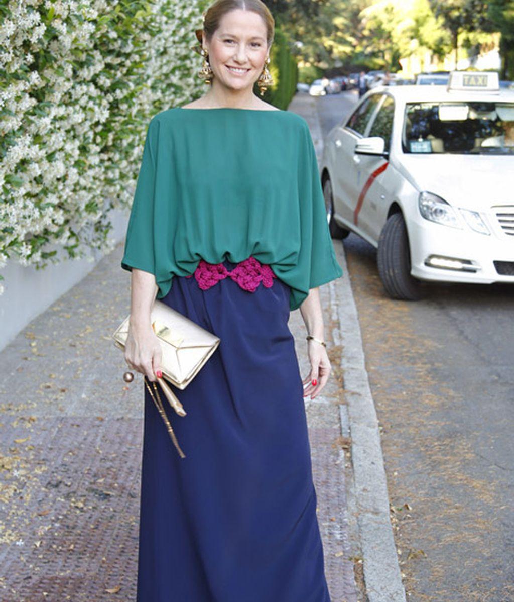 Fiona Ferrer quiso acompañar a la ex marquesa de Iria Flavia