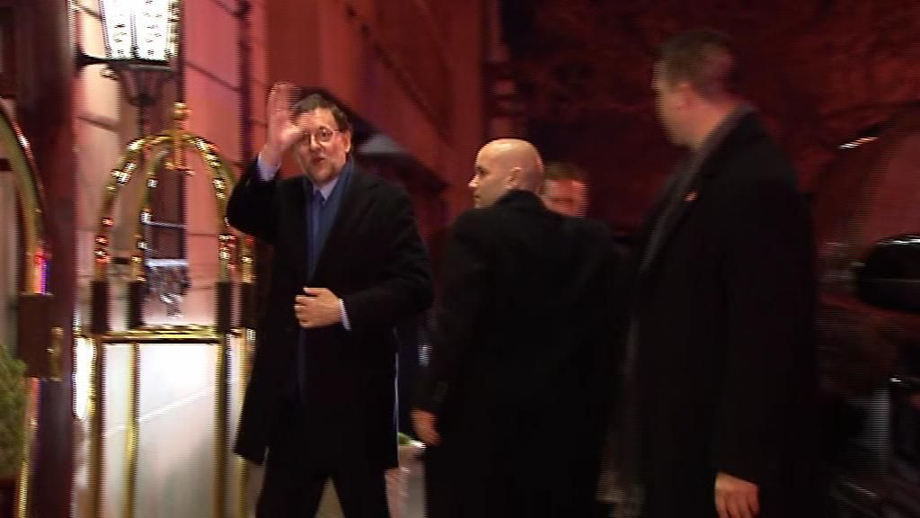 Mariano Rajoy llega a Washington para visitar a Obama en la Casa Blanca