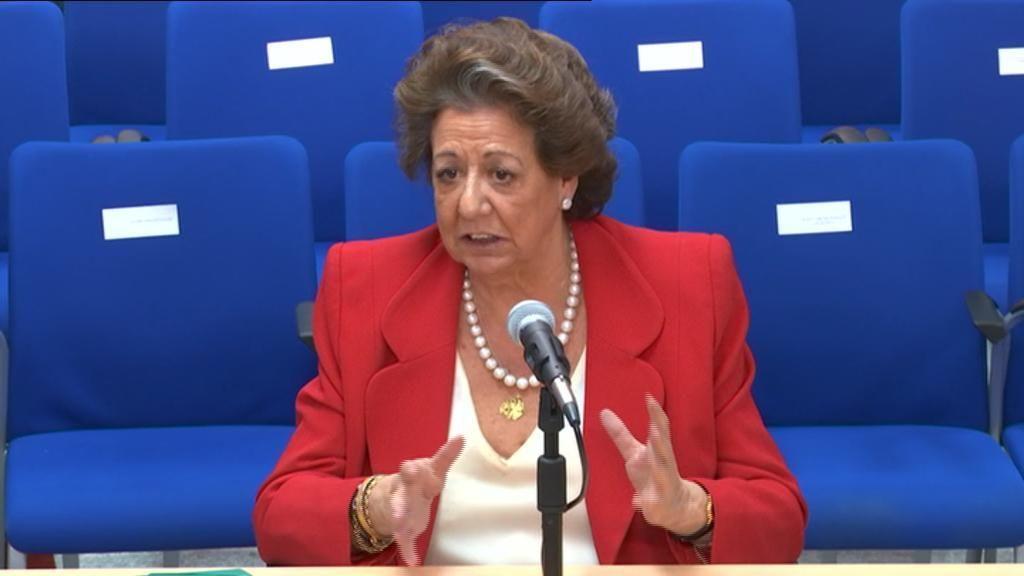 Rita Barberá declara en el juicio del caso Nóos