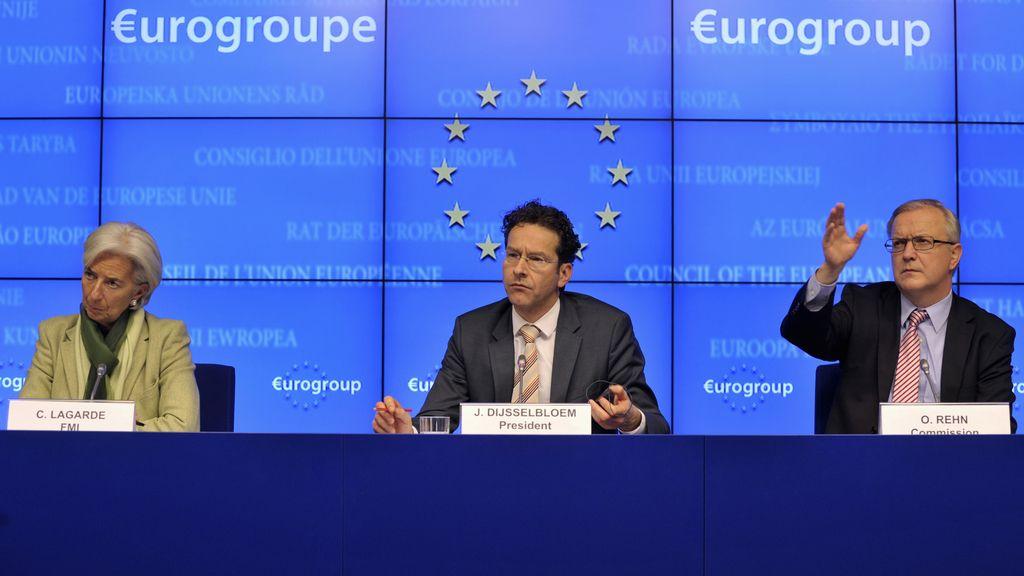 El Eurogrupo y Chipre, en reunión extraordinaria para intentar cerrar el rescate