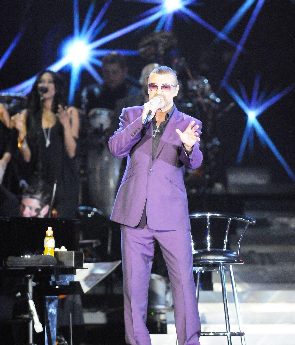 George Michael, ingresado