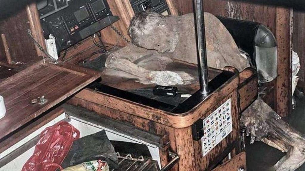 El cadáver momificado