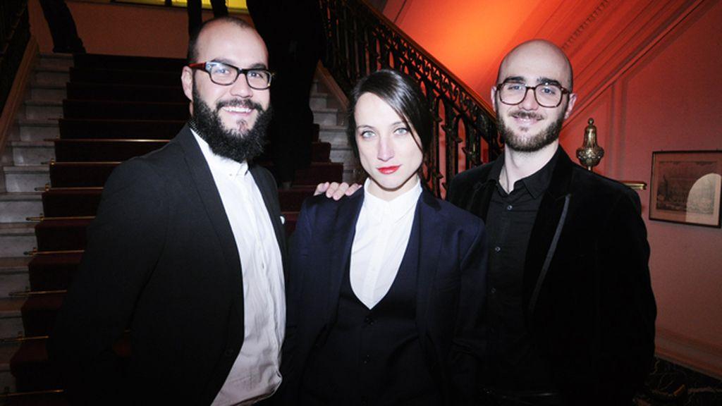 Jon Reyes, Raquel Sánchez y Adrián de la Peña