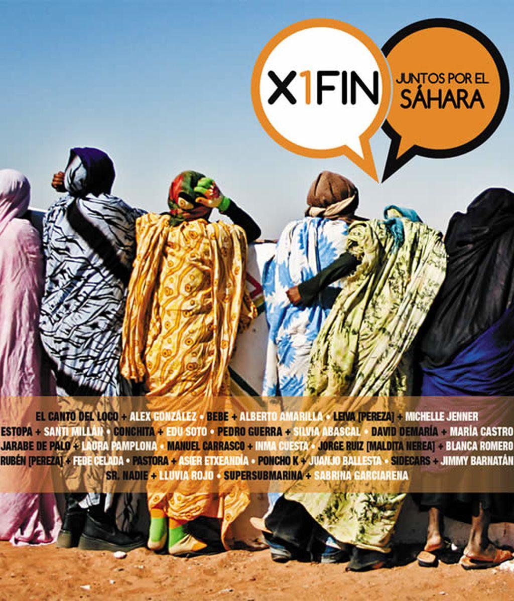 Portada disco X1fin juntos por el Sáhara