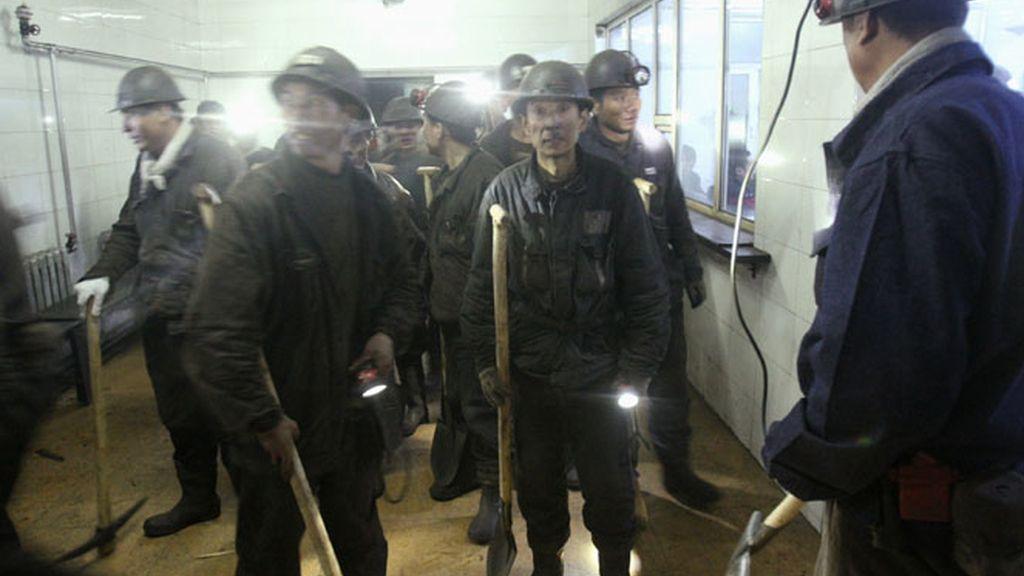 Explosión de una mina en China