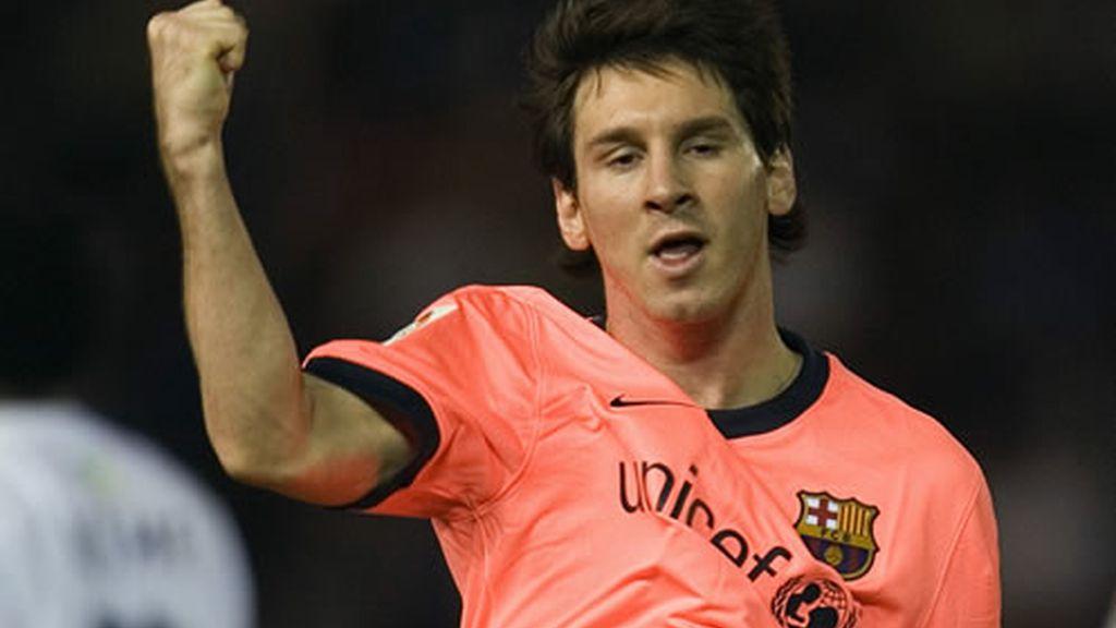 Leo Messi en Tenerife