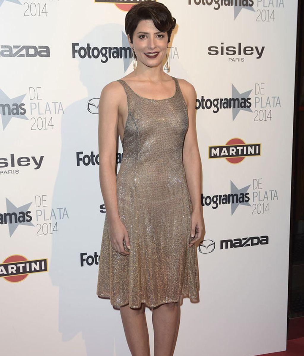 Barbara Lennie, de enhorabuena al recibir el premio a Mejor Actriz del año