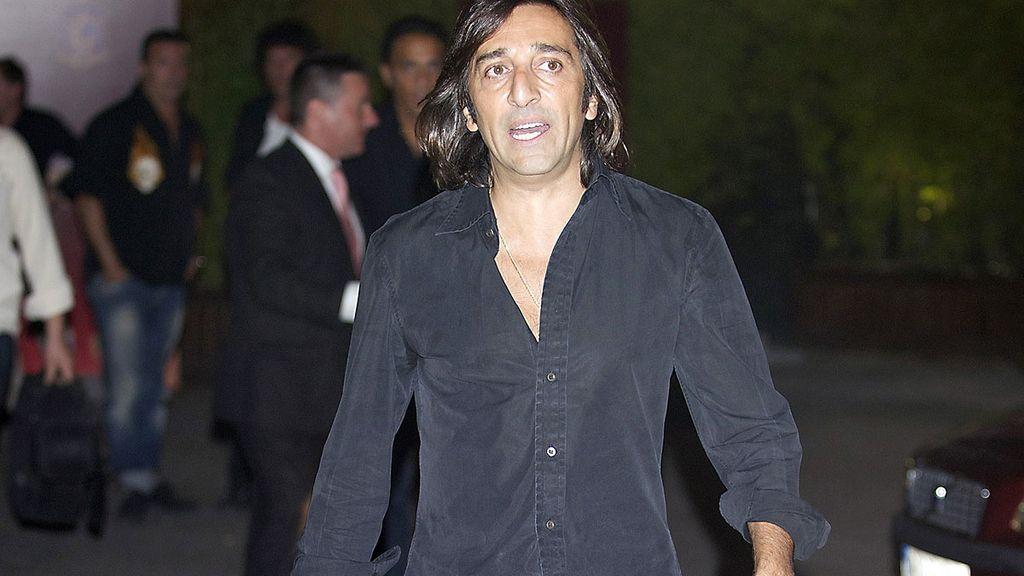 Antonio Carmona durante la fiesta de la Selección española