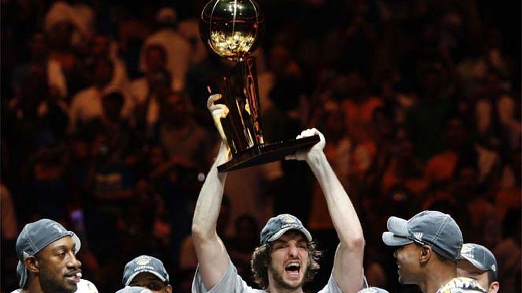 Gasol gana la NBA