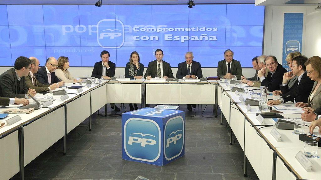 Reunión de líderes del PP