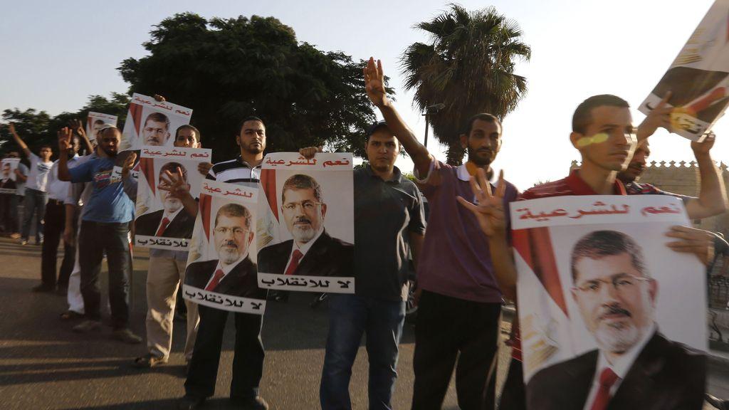 Apoyo a Mohamed Morsi